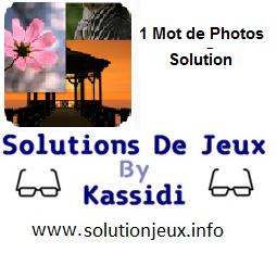 1 Mot de photos toutes les solutions