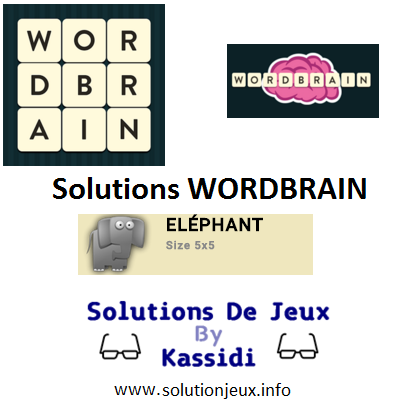 14 wordbrain elephant solutions