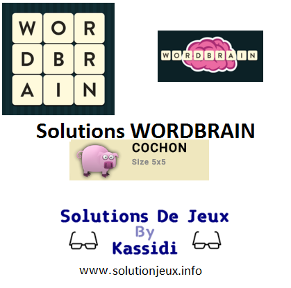 17 wordbrain cochon solutions