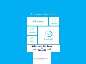 solution animal très lent