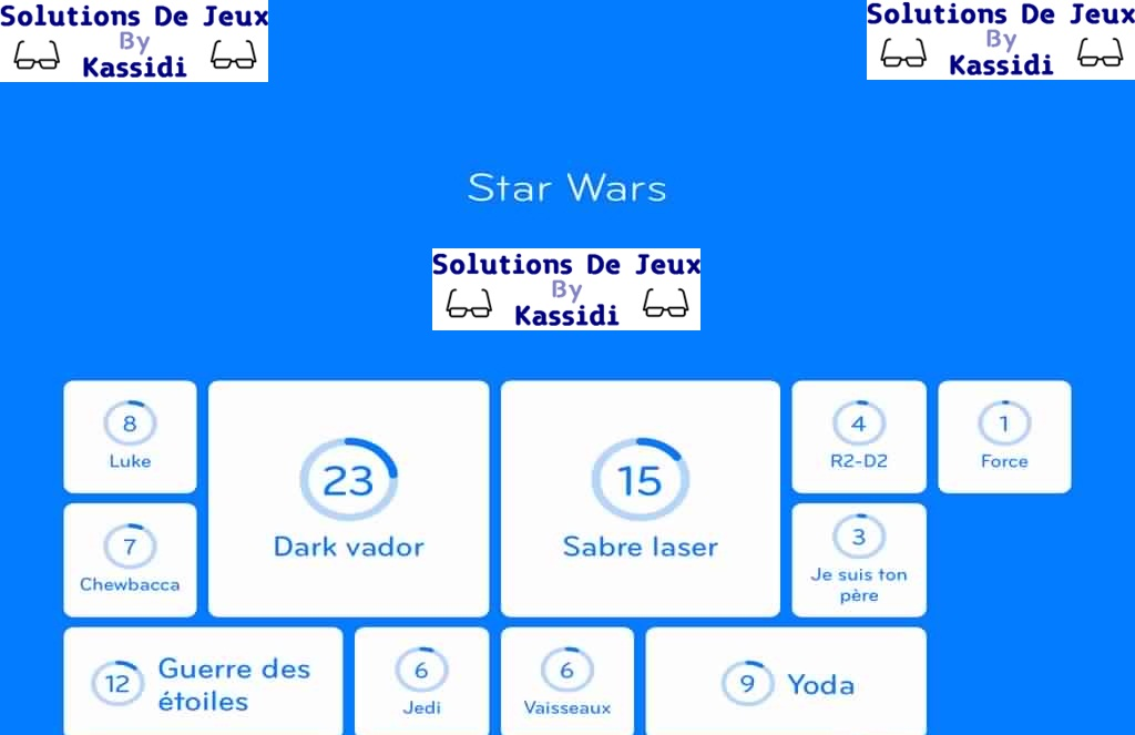 94 star wars solutions for Solution 94 niveau 2