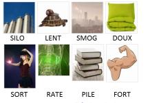 Pixwords solutions mots à 4 lettres info 14