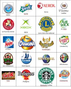 Logos Quizz France niveau 9-1
