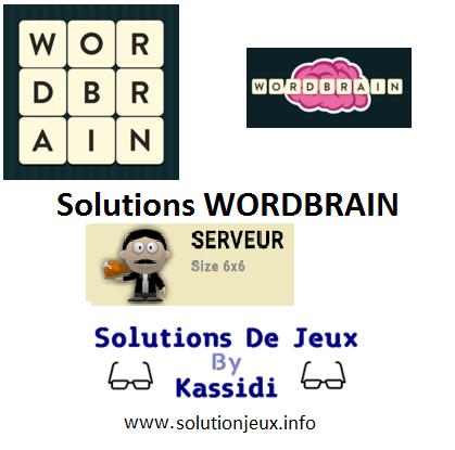 24 wordbrain serveur solutions