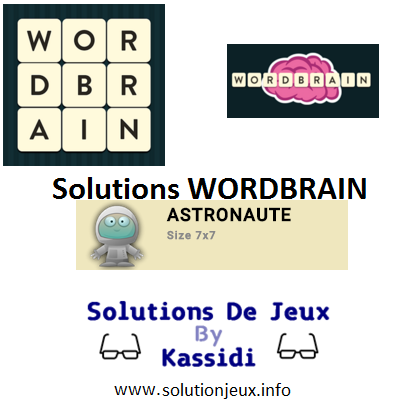 29 wordbrain astronaute solutions