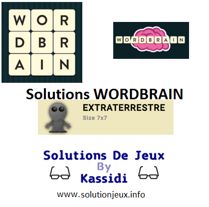 31 wordbrain extraterrestre solutions