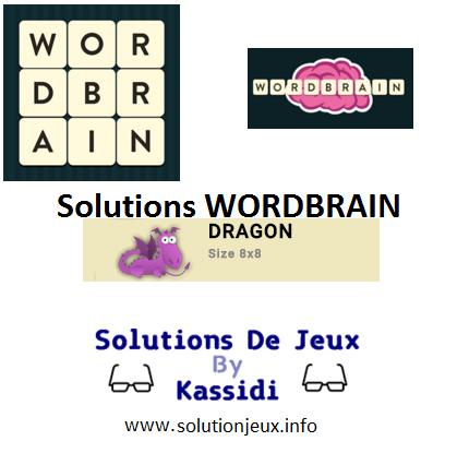 33 wordbrain dragon solutions
