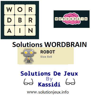 35 wordbrain robot solutions