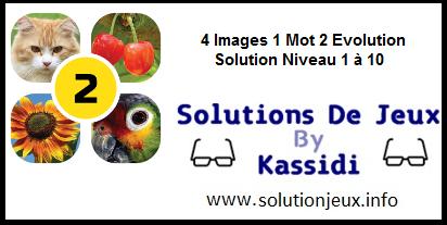 4 images 1 mot 2 niveau 1-2-3-4-5-6-7-8-9-10
