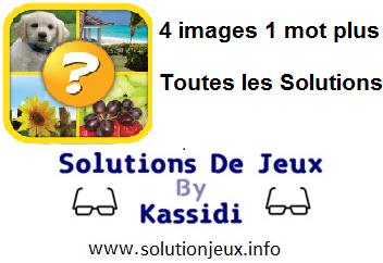 4 images 1 mot plus réponses complètes