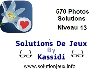 570 Photos réponses niveau 13