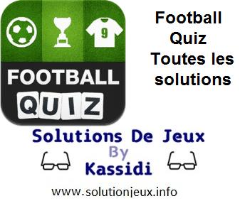 football quiz toutes les solutions
