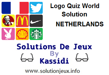Logo Quiz world Netherlands all levels
