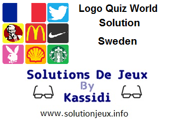 Logo Quiz world Sweden all levels