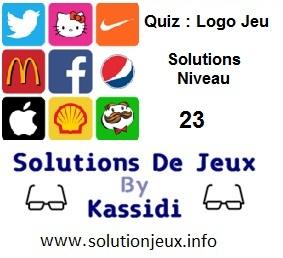 Quiz Logo Jeu Niveau 23 Solutions