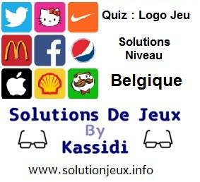 Quiz Logo Jeu Niveau Belgique Solutions