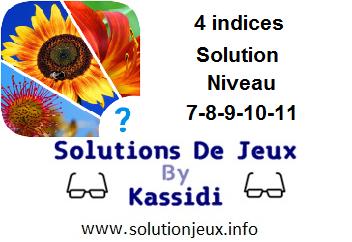 Solution 2 indices niveau 6-7-8-9-10-11