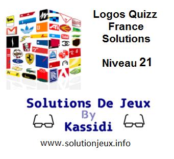Solution Logos Quizz France Niveau 21
