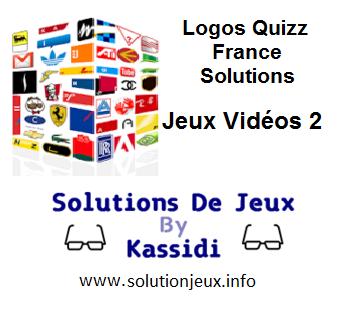 Solution Logos Quizz France Série Jeux Vidéo 2