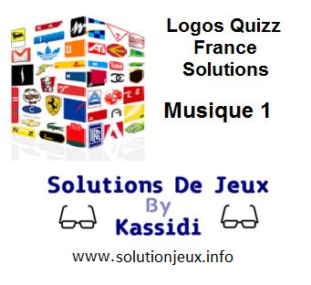 Solution Logos Quizz France Série Musique 1