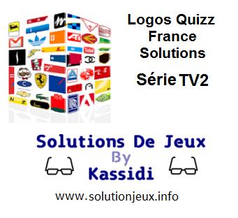 Solution Logos Quizz France Série TV2