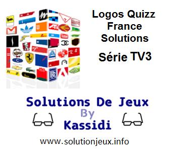 Solution Logos Quizz France Série TV3