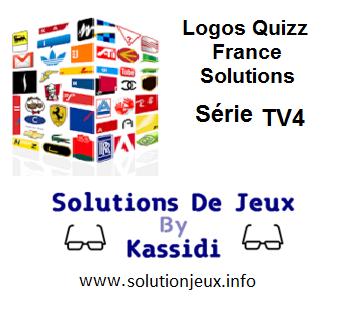 Solution Logos Quizz France Série TV4