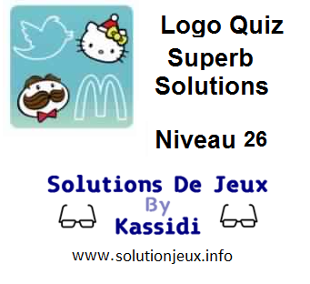 Solutions Logo Quiz Superb Niveau 26