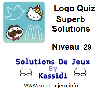Solutions Logo Quiz Superb Niveau 29
