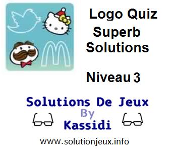 Solutions Logo Quiz Superb Niveau 3