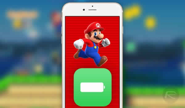 Super mario Run batterie astuces