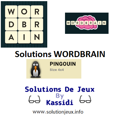 08 wordbrain pingouin solutions