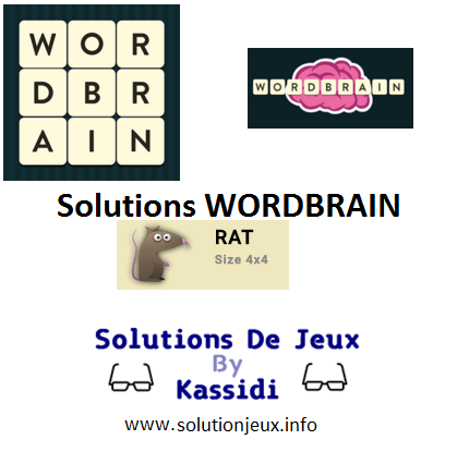 10 wordbrain rat solutions