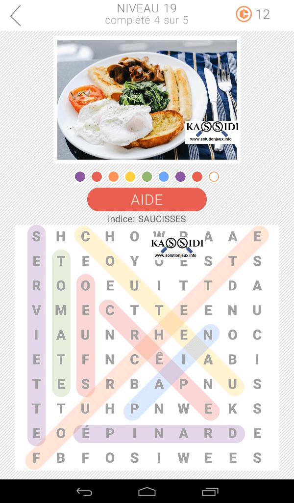 10x10 mots cachés niveau 19 solutions
