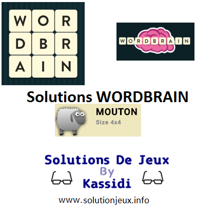 11 wordbrain mouton solutions