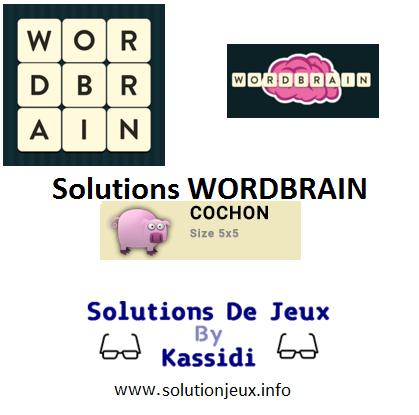 17 wordbrain cochon solutions