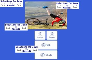 solution 94 image cycliste chute