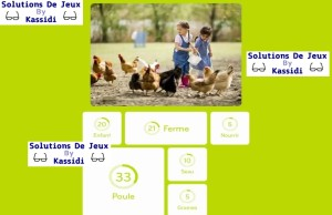 solution 94 image enfants poule