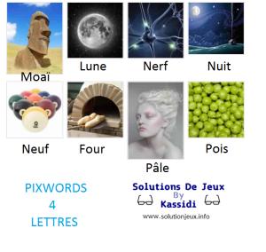 Pixwords solutions mots à 4 lettres info 11
