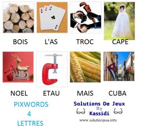 Pixwords solutions mots à 4 lettres info 23