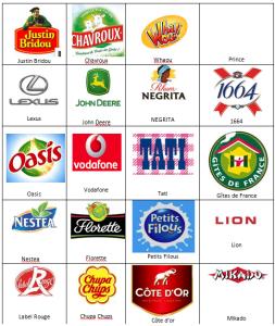 Logos Quizz France niveau 9-2