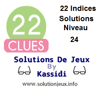 22 indices Niveau 24 Solutions