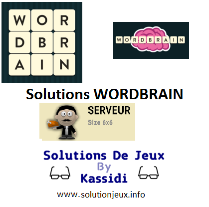 24 wordbrain serveur solutions