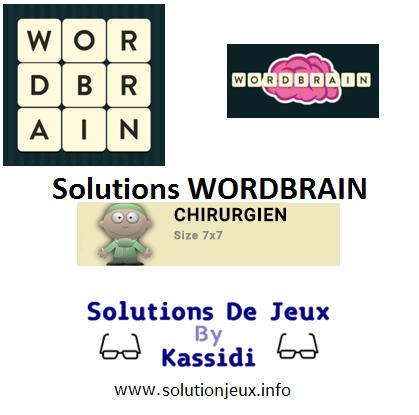 28 wordbrain chirurgien solutions