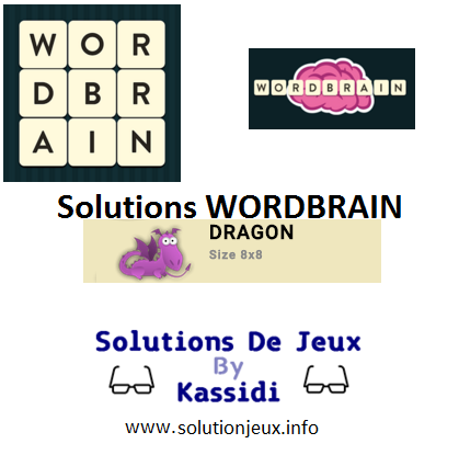 33 wordbrain dragon solutions