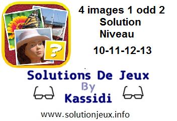 4 images 1 odd 2 niveau 10-11-12-13