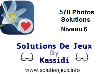 570 Photos réponses niveau 6