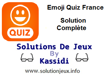 Emoji Quiz France réponses