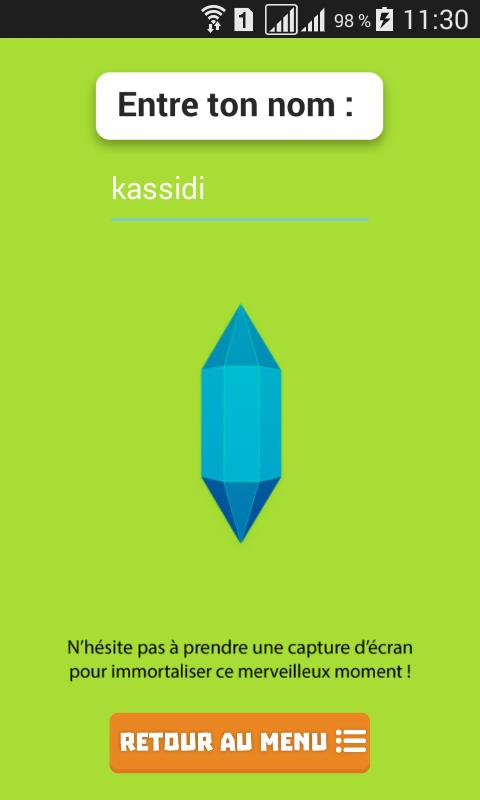 Kassidi Ducroix 33 énigmes finish