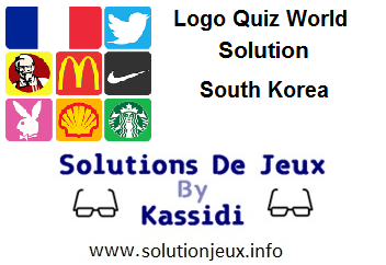 Logo Quiz world South Korea all levels